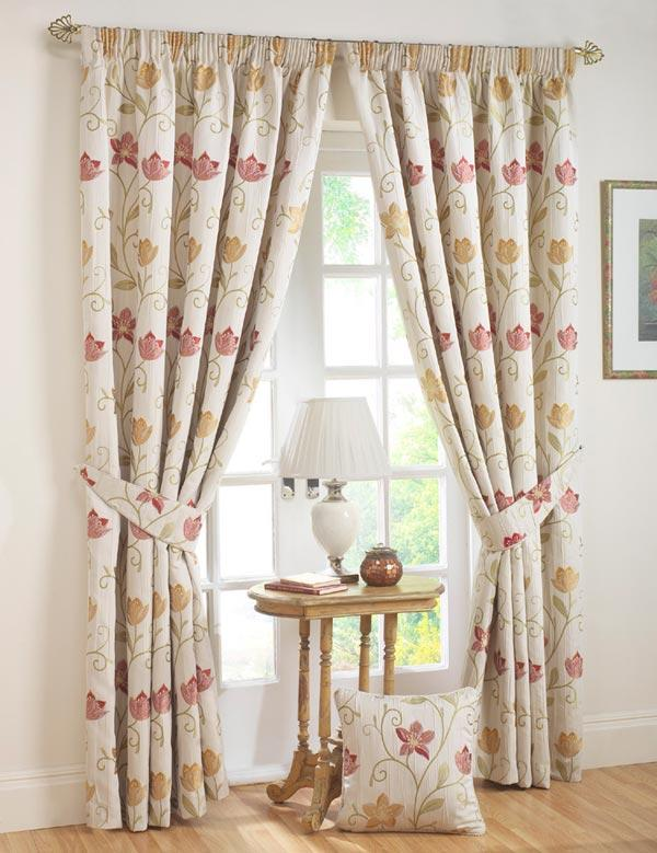 winsome-living-room-decoration-curtains-with-floral-prints